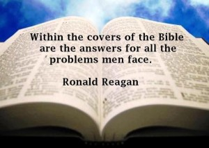 Between the pages of the Bible