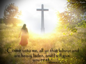 Come unto me, all ye that labour